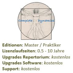 Complete Dynamics Software Lizenz inkl. Complete Repertorium