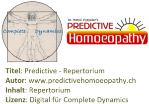 Zusatzlizenz REP: Predictive Repertorium PHCH