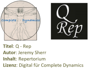 Zusatzlizenz REP: Q-Rep repertory (Jeremy Sherr)